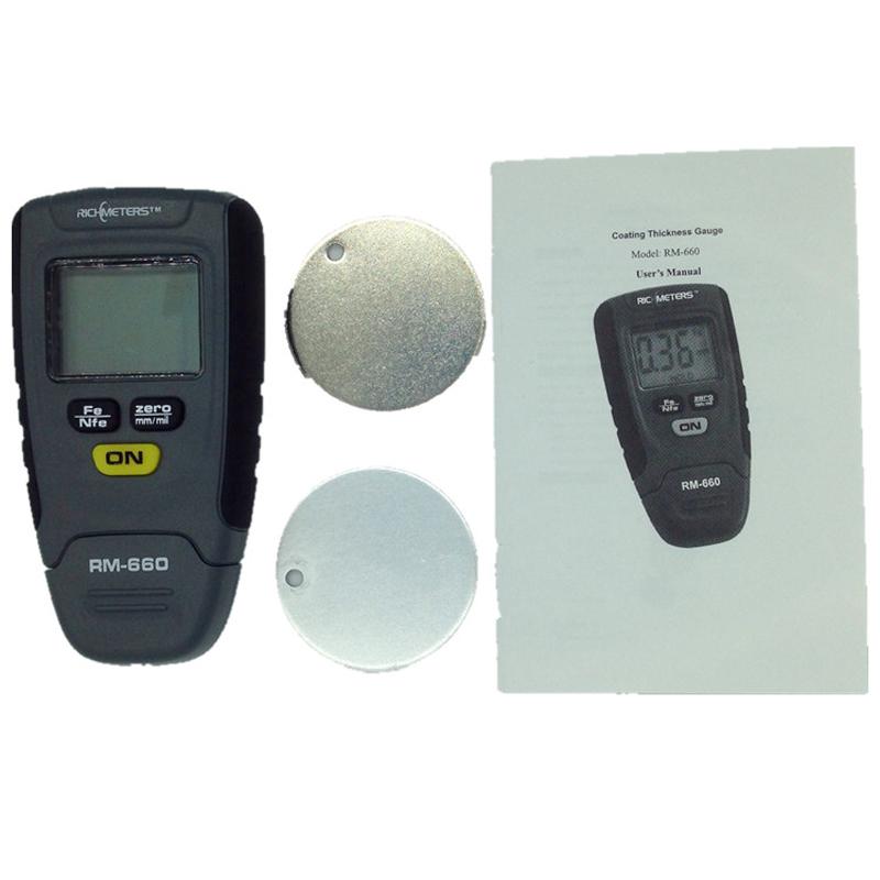 толщиномер rm660 инструкция