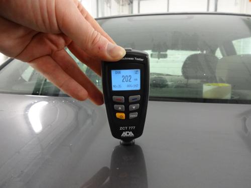 Цифровой измеритель толщины краски RICHMETERS RM-660 | avto